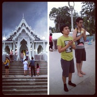 Photo taken at Wat Kaew Korawaram by Tienchai L. on 7/22/2013
