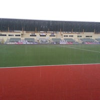 Photo taken at Stadium Hoki Nasional by Azrie F. on 4/9/2013