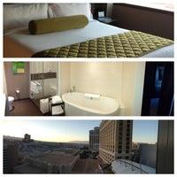 Photo taken at Vdara Hotel & Spa by Rae L. on 5/31/2013