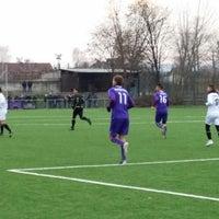 Photo taken at Tungsram sporttelep by Lamperth B. on 1/25/2014