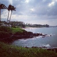 Photo taken at Wailea Beach by Michael B. on 12/24/2012