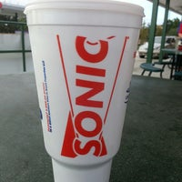 Photo taken at SONIC Drive In by Miriam B. on 11/16/2013