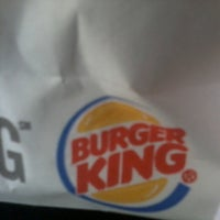 Photo taken at Burger King by Clinton G. on 4/5/2013