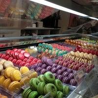 Photo taken at MacarOn Café by Stella Y. on 2/18/2013