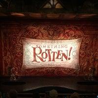 Photo taken at St. James Theatre by Winnie F. on 5/13/2015