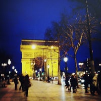 Photo taken at Place Charles de Gaulle by Julien T. on 2/21/2013