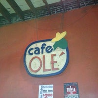 Photo taken at Cafe Olé by Joseph A. on 11/11/2012
