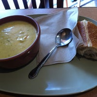 Photo taken at Panera Bread by Kate R. on 3/16/2013