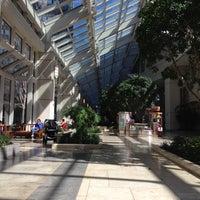 Photo taken at Prudential Center Courtyard & Garden by cartoonztnz w. on 5/1/2013