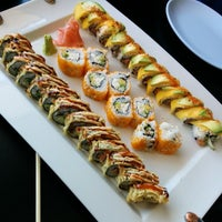 Photo taken at Spider Sushi by Mary D. on 7/13/2014