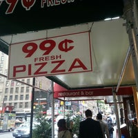 Photo taken at 99¢ Fresh Pizza by Brian P. on 5/15/2013