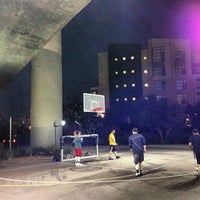 Photo taken at Berry Basketball Courts by Clayton L. on 1/15/2014