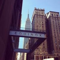 Photo taken at Equinox Park Avenue by Kai B. on 8/29/2014