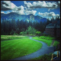 Photo taken at Skamania Lodge by Justin Eats on 4/29/2013