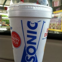 Photo taken at SONIC Drive In by Meagan J. on 5/2/2013