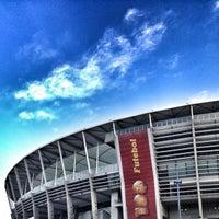 Photo taken at Itaipava Arena Fonte Nova by Clayton O. on 5/25/2013