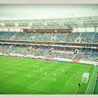 Photo taken at Стадион «Локомотив» by Olya K. on 7/28/2013