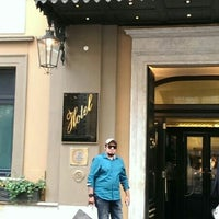 Photo taken at Hotel d'Inghilterra by Wesam H. on 7/31/2014