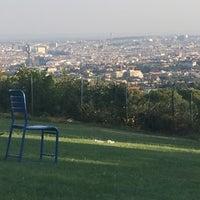 Photo taken at Krapfenwaldbad by Manfred B. on 9/14/2016