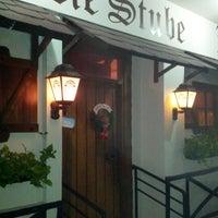 Photo taken at Die Stube German Bar & Resto by Stephan G. on 12/8/2012