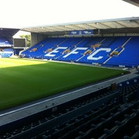Photo taken at Goodison Park by Krit S. on 7/11/2013
