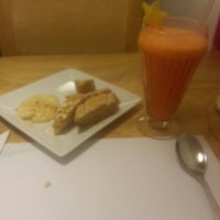 Photo taken at SanaQueSana Gourmet by Kendra B. on 5/15/2013