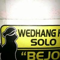 Photo taken at Angkringan Wedang Hik Solo by Yuzron R. on 4/19/2013