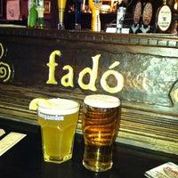 Photo taken at Fadó Irish Pub & Restaurant by Jackie E. on 1/21/2013