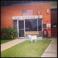 Photo taken at Fire Station 2 by Stephanie P. on 8/10/2013