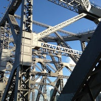 Photo taken at Story Bridge by Spatial Media on 4/15/2013