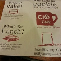 Photo taken at Cab Cafe by Francis Carlo R. on 12/5/2012