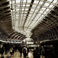 Photo taken at London Paddington Railway Station (QQP) by Muhammad A. on 4/16/2013