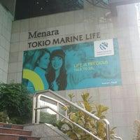 Photo taken at Menara Tokio Marine Life by LifeAsEjad on 6/7/2016