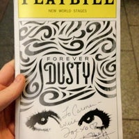 Photo taken at Forever Dusty the Musical at New World Stages by Carmen d. on 12/14/2012