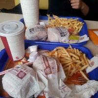 Photo taken at Burger King by Buse G. on 5/14/2013