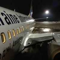 Photo taken at Terminal B (KBP) by Анна Г. on 2/26/2013