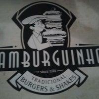 Photo taken at Hamburguinho by Amanda P. on 3/10/2013