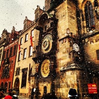 Photo taken at Prague Astronomical Clock by Pelle N. on 2/8/2013