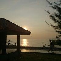 Photo taken at Wisata Pantai Boom Tuban by Nashril A. on 3/29/2014