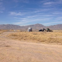 Photo taken at Biggs Army Airfield by Ryan P. on 1/8/2014