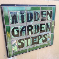 Photo taken at Hidden Garden Mosaic Steps by Andres N. on 5/2/2016
