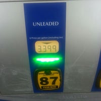 Photo taken at Sam's Club Fuel Station by Adrienne P. on 3/12/2013