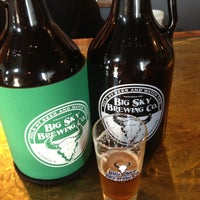 Photo taken at Big Sky Brewing Company by Jessica R. on 5/10/2013
