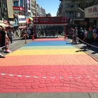 Photo taken at Bakırköy Özgürlük Meydanı by Hakan F. on 9/12/2013