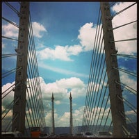 Photo taken at Penang Bridge by MK C. on 2/16/2013