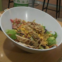 Photo taken at Super Salads by Vic Man A. on 3/4/2013