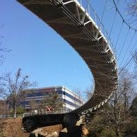 Photo taken at Liberty Bridge by Cristi S. on 3/19/2013