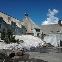 Photo taken at Timberline Lodge by Paweł W. on 5/8/2013