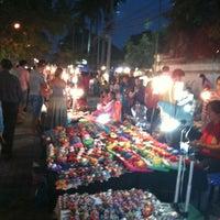 Photo taken at Chiangmai Walking Street by tee t. on 12/23/2012