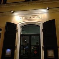 Photo taken at La Degustation Bohême Bourgeoise by Gonzalo M. on 2/10/2013